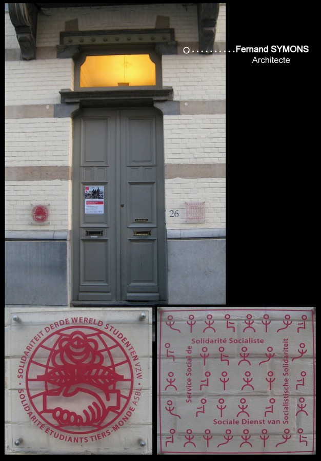 Porte entr e et panneaux rue de parme n 26 28 for Rue de parme