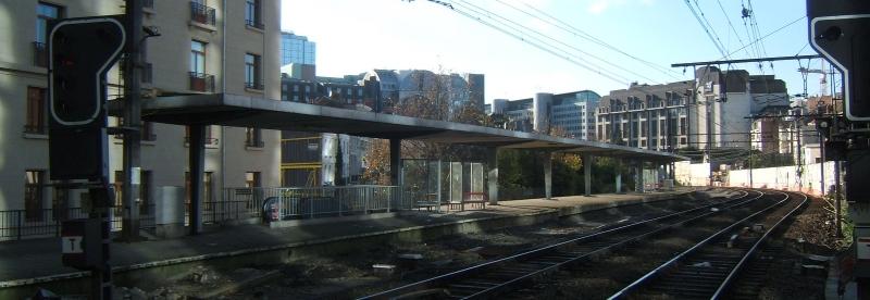 Ancien quai ext rieur avant sa d molition gare bruxelles for Exterieur quai