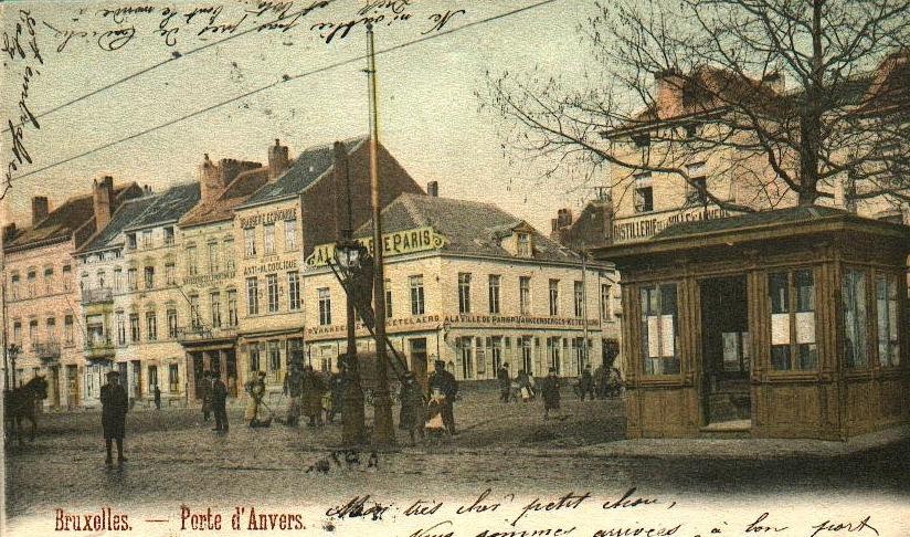 Porte d 39 anvers entr e de la chauss e d 39 anvers chauss e d 39 anvers porte d 39 anvers - Port d anvers belgique adresse ...