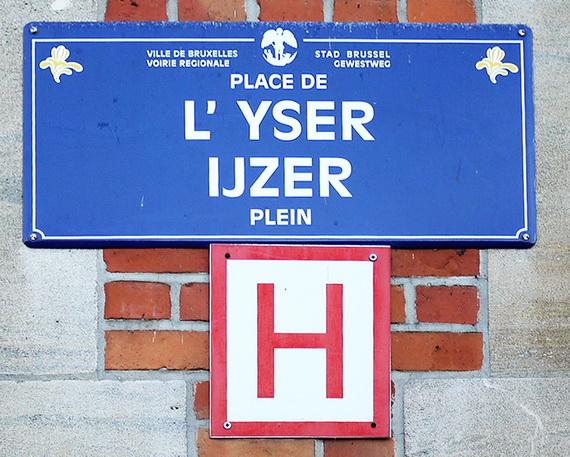 Localisation de 39 place de l 39 yser 39 sur 14 plans de bruxelles for Garage peugeot rouen boulevard de l yser