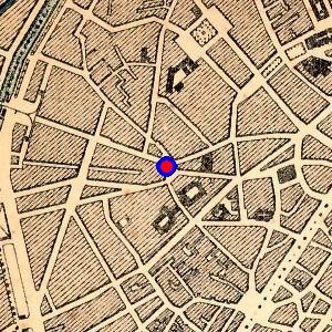 Localisation de 39 place du jardin aux fleurs 39 sur 13 plans for Place du jardin aux fleurs