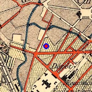 Localisation de 39 rue joseph dujardin 39 sur 9 plans de bruxelles for Rue joseph dujardin 8 anderlecht