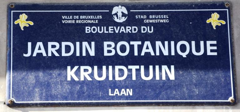 Boulevard du jardin botanique for Boulevard jardin botanique